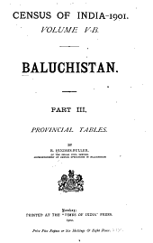 Census of India, 1901: Volume 5, Parts 2-3