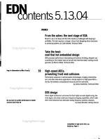 EDN  Electrical Design News PDF