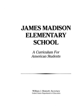 Curriculum for American Students: James Madison Elementary School