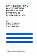 Synthesis of Power Distribution to Manage Signal Integrity in Mixed-Signal ICs