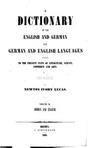 Dictionary of the English and German and German and English Languages PDF