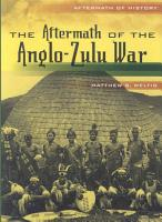The Aftermath of the Anglo Zulu War PDF