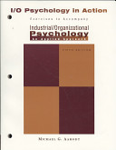 Industrial Organizational Psychology in Action PDF