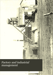 Factory and Industrial Management: Volume 15