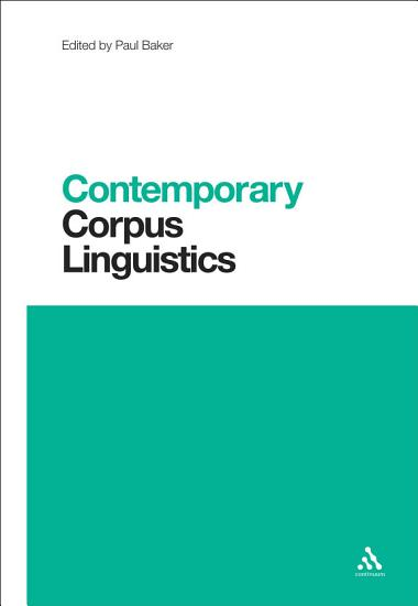 Contemporary Corpus Linguistics PDF