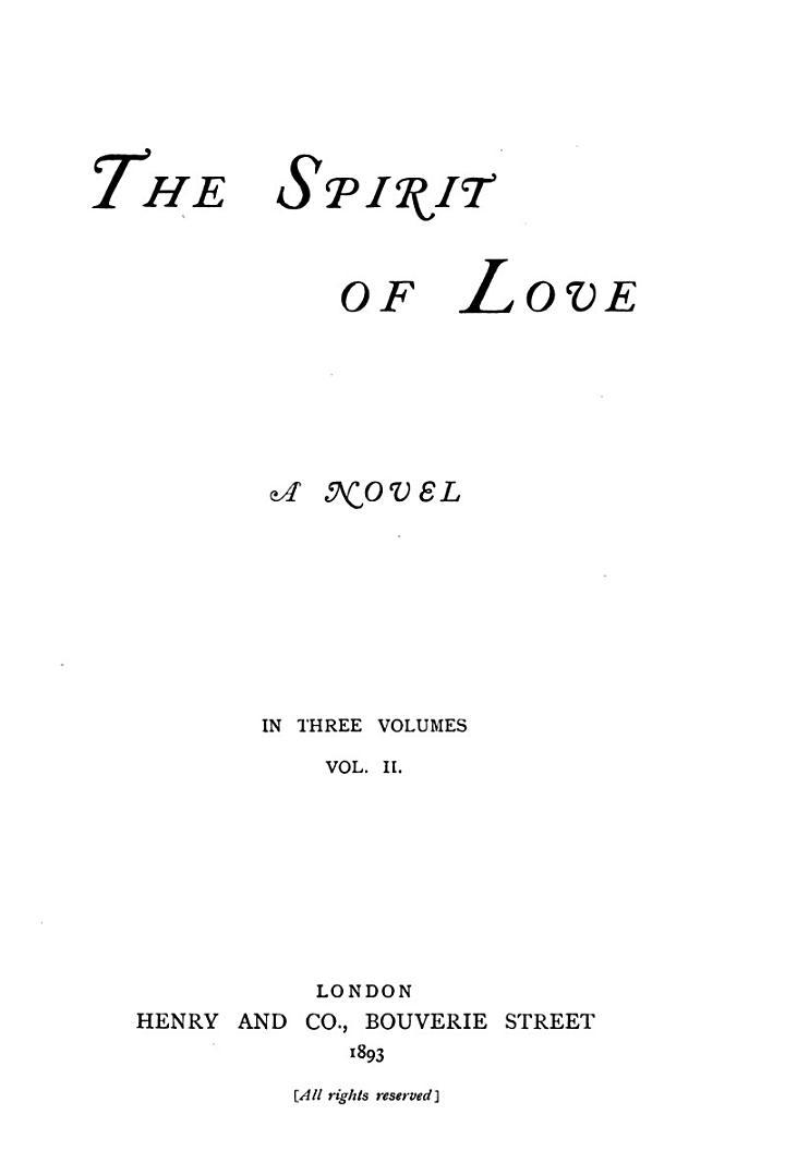 The Spirit of Love