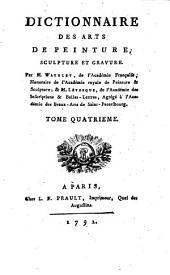 Dictionnaire des arts de peinture, sculpture et gravure