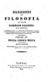 Elementi di filosofia: Volume 4