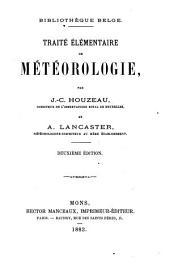 Traité élémentaire de météorologie