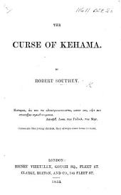 The Curse of Kehama ... The third edition