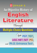An Objective History of English Literature Through Multiple Choice Questions  for UGC NET SLET TGT   PGT  PDF