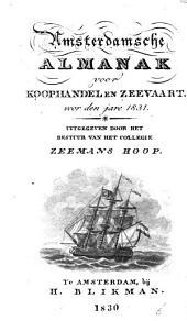 Amsterdamsche almanak voor koophandel en zeevaart: Volume 1