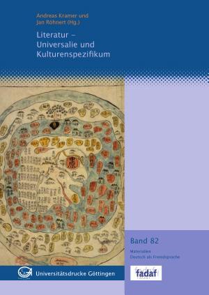 Literatur  Universalie und Kulturenspezifikum PDF