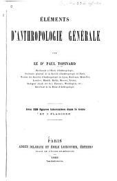 Éléments d'anthropologie générale