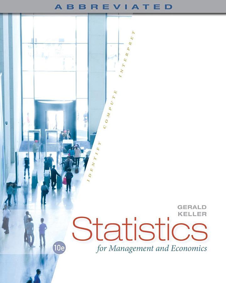 Statistics for Management and Economics, Abbreviated