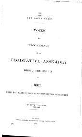Votes & Proceedings: Volume 3