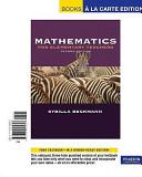 Mathematics for Elementary Teachers Book