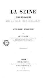 La Seine: études hydrologiques