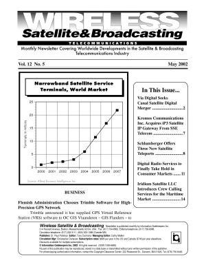 Wireless Satellite   Broadcasting