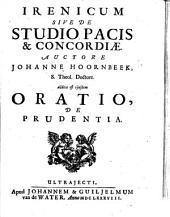 Irenicum s. de studio pacis et concordiae