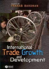 International Trade, Growth, and Development