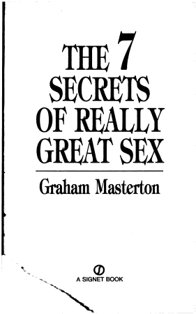 The Seven Secrets of Really Great Sex PDF