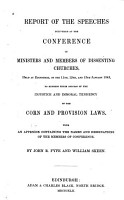 Report of the Speeches Delivered at the Conference of Ministers and Members of Dissenting Churches PDF