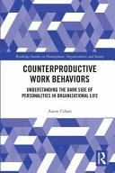 Counterproductive Work Behaviors PDF