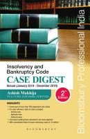 Case Digest on Insolvency and Bankruptcy Code  2016 PDF