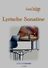 Lyrische Sonatine: Notenausgabe