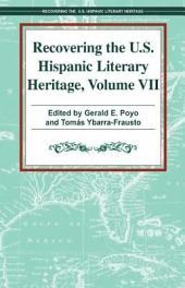 Recovering U. S. Hispanic Literary Heritage