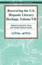Recovering U  S  Hispanic Literary Heritage PDF