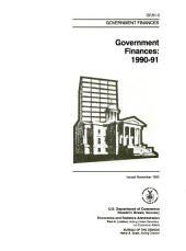 Government Finances in ...: Volume 3