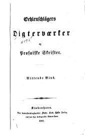 Oehlenschlägers digterværker og prosaiske skrifter ...