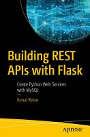 Building REST APIs with Flask PDF