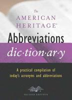 The American Heritage Abbreviations Dictionary PDF