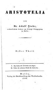 Aristotelia: Bände 1-2