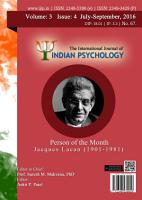 The International Journal of Indian Psychology  Volume 3  Issue 4  No  67 PDF