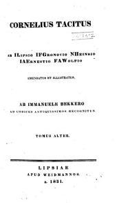 Cornelius Tacitus: Volume 2