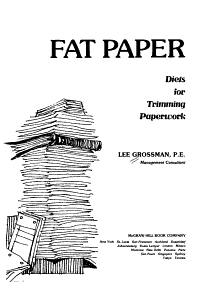 Fat Paper