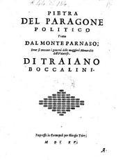 Pietro del paragone politico tratta dal Monte Parnaso (etc.)