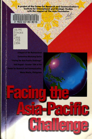 Facing the Asia Pacific Challenge PDF