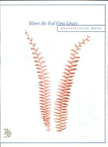 Where the Red Fern Grows Comprehension Guide Book