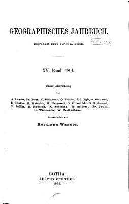 Geographisches Jahrbuch PDF
