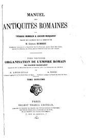 Manuel des antiquités romaines: Volume9