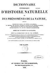 Dictionaire Pittoresque D'histoire Naturelle et Des Phenomenes de la Nature