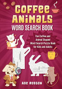 Coffee Animals Word Search Book