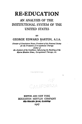 Re-education: An Analysis of the Institutional System of the United States