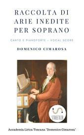 Raccolta di arie per soprano