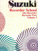 Suzuki Recorder School Alto Recorder Recorder Part